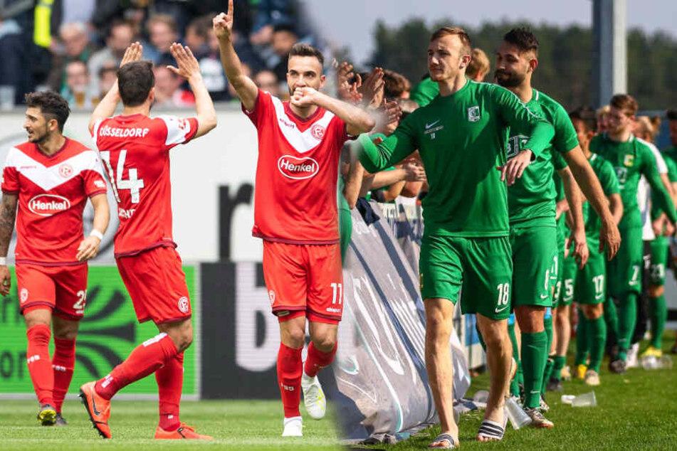 Am 22. Mai ist Bundesligist Fortuna Düsseldorf zu Besuch im Leutzscher Alfred-Kunze-Sportpark.