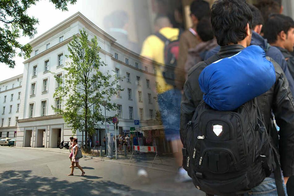 Aufgrund der aktuellen Lage wohnen derzeit ein Teil der Bewohner auf der Wiese vor dem Gebäude. (Symbolbild)
