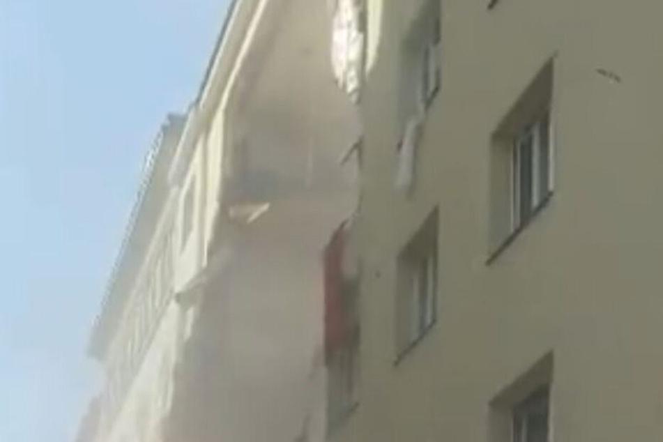 Eine Gasexplosion soll verantwortlich sein.