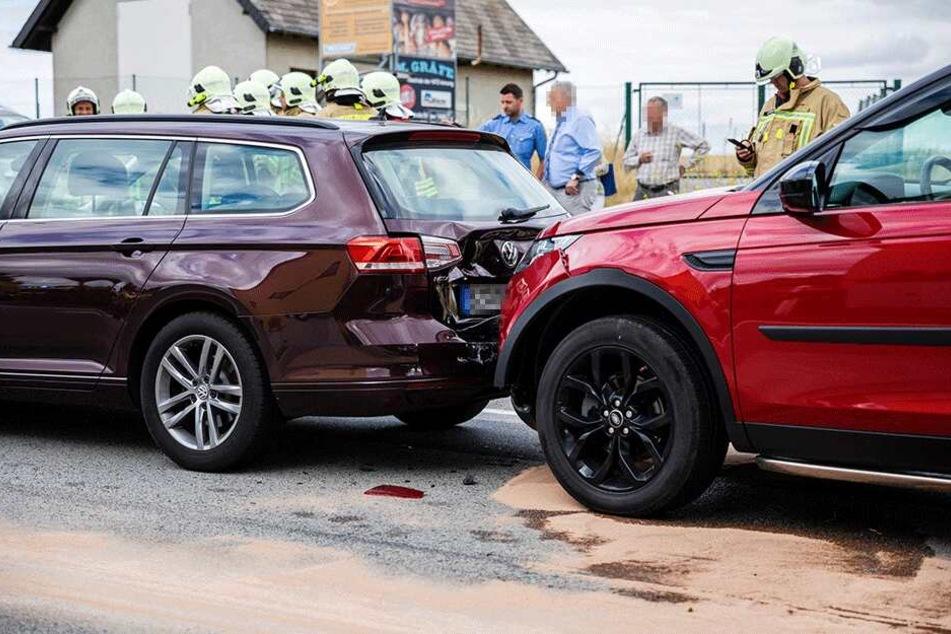 Auffahrunfall mit vier Fahrzeugen sorgt für Stau im Berufsverkehr
