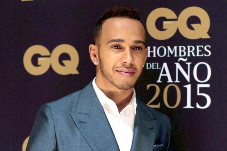 """Lewis Hamilton (34) darf sich in diesem Jahr über einen """"GQ Men of the Year Award"""" freuen."""