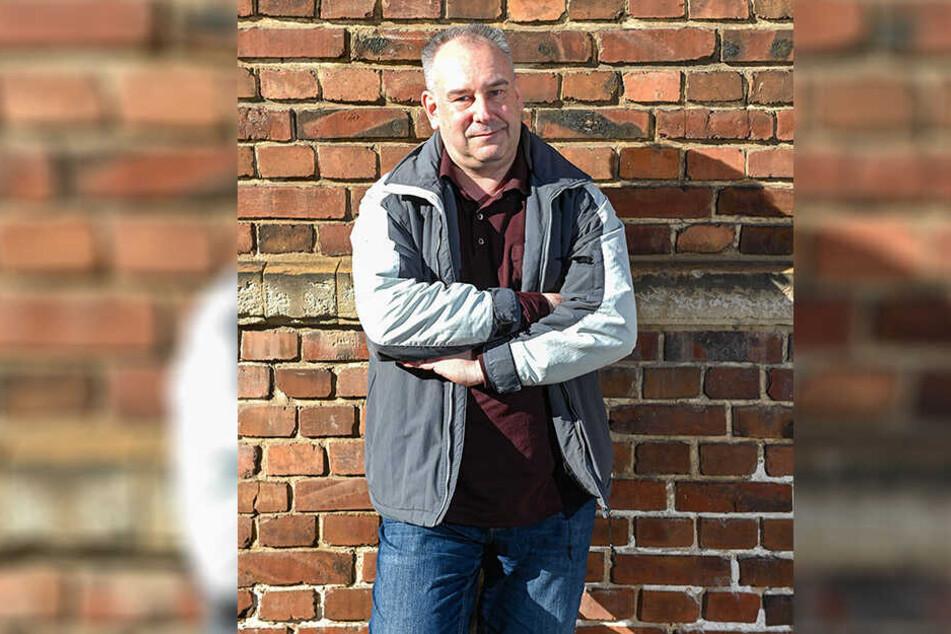 "Drobs-Chef Sven Baumgarten (49) warnt vor dem Kauf des ""Streetworker""."