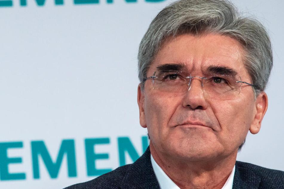 Nick Heubeck von den Bamberger Fridays for Future kritisiert Siemens Geschäftspolitik