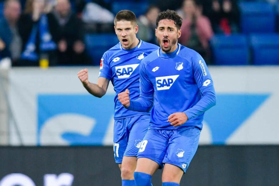 Tragen durch den Ausfall Joelintons noch mehr Verantwortung in Hoffenheims Offensive: Andrej Kramarić (links im Bild) und Ishak Belfodil.