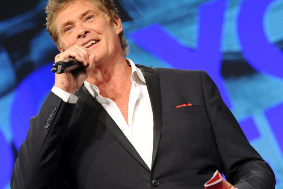 Mega-Comeback in Deutschland: David Hasselhoff tourt 2018 und macht Halt in Leipzig.