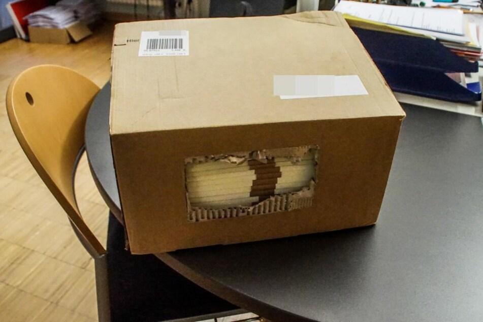 Der Grund allen Ärgers: dieses ominöse Paket.