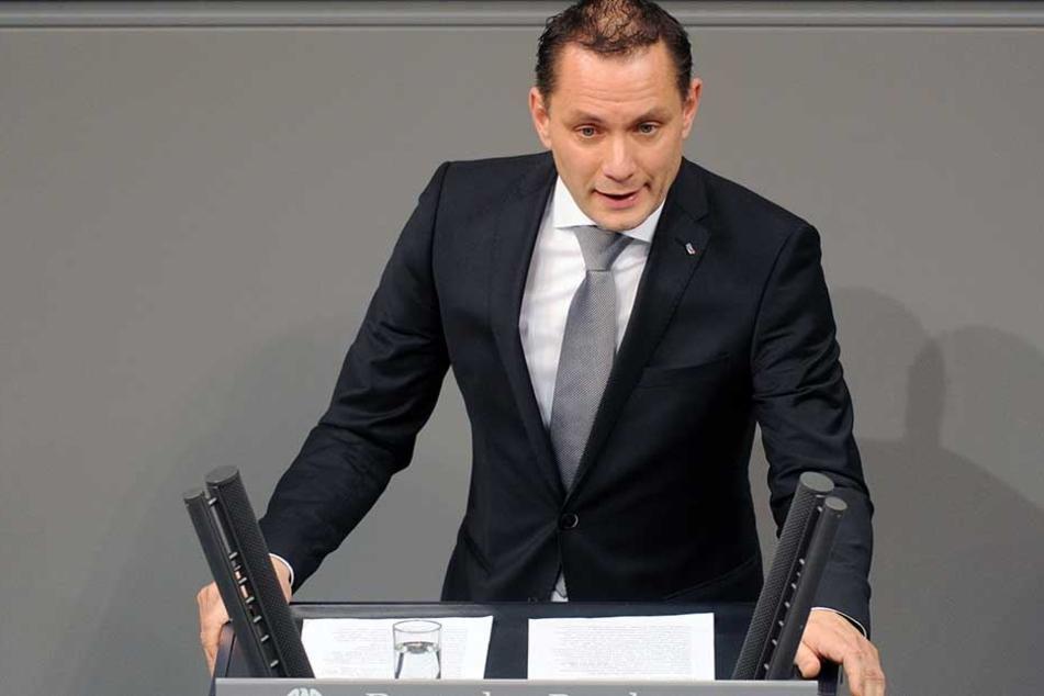 Liebäugelt mit der Spitzenkandidatur: AfD-Malermeister Tino Chrupalla.