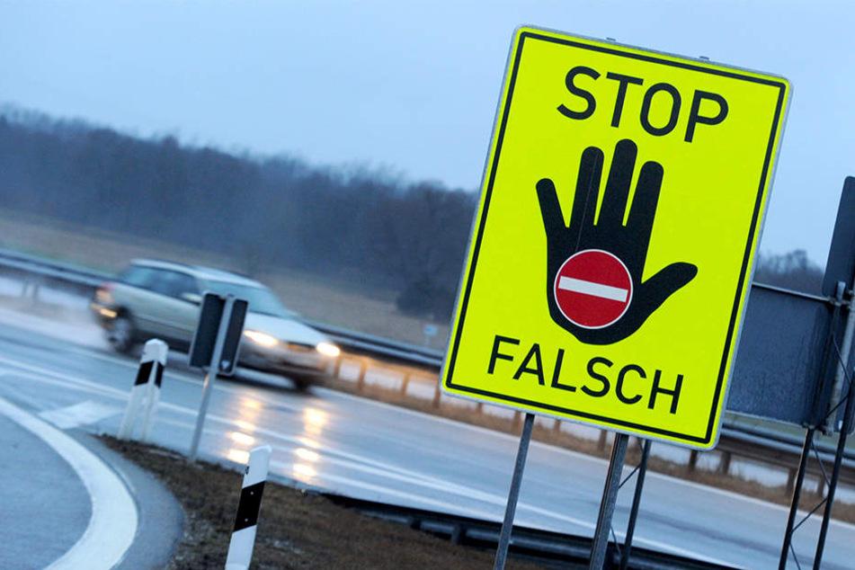 Bei Duisburg-Homberg hat die Polizei einen Falschfahrer auf einer Autobahn gestoppt. (Symbolbild)