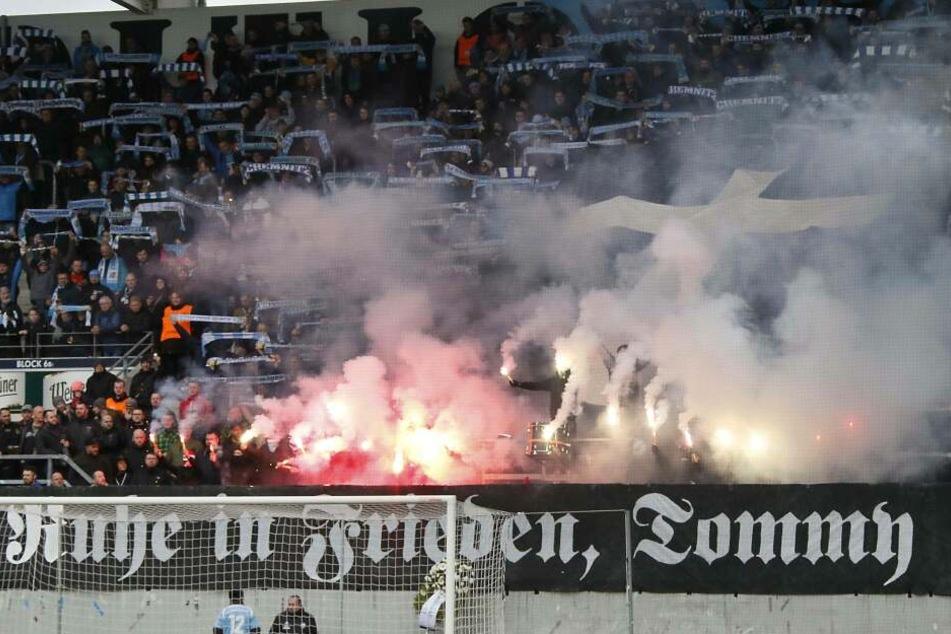 Nach dem Nazi-Skandal beim Chemnitzer FC wird auch der Sicherheitsdienst ausgetauscht.