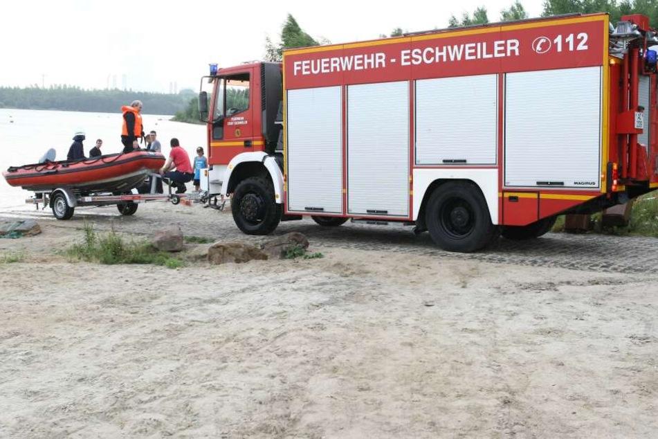 Am Freitagmorgen wurde im Blausteinsee in Eschweiler eine Frauenleiche entdeckt (Archivbild).