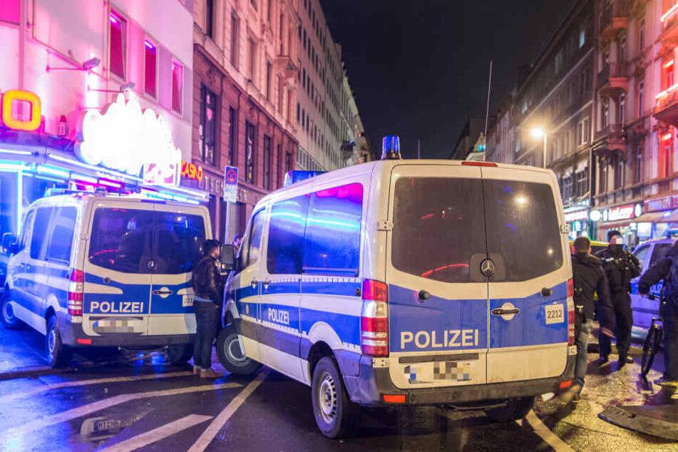 Im Frankfurter Bahnhofsviertel gehören Straftaten zur Tagesordnung. (Symbolbild)