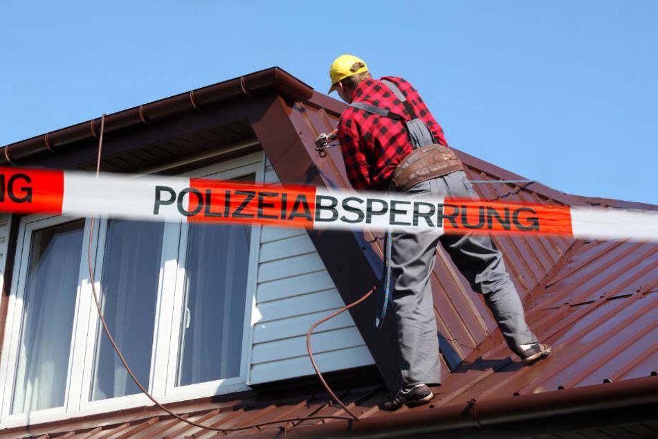 Jetzt jagt die Polizei schon falsche Dachdecker. (Symbolbild)