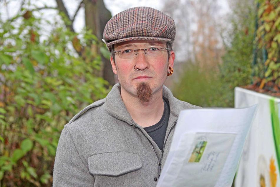 Um Linken-Stadtrat René Hahn (35) gab es in den letzten Wochen viele  Diskussionen.