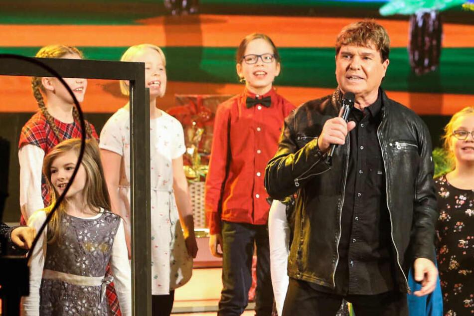 """""""Fröhliche Weihnachten in Familie"""": Frank Schöbel sucht singende Sachsen-Kinder"""