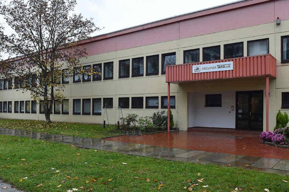 Die Dresdner Tafel an der Zwickauer Straße ist ein gemeinnütziger Verein.