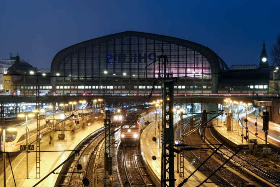 Der Hamburger Hauptbahnhof soll laut SPD und Grünen schleunigst ausgebaut werden.