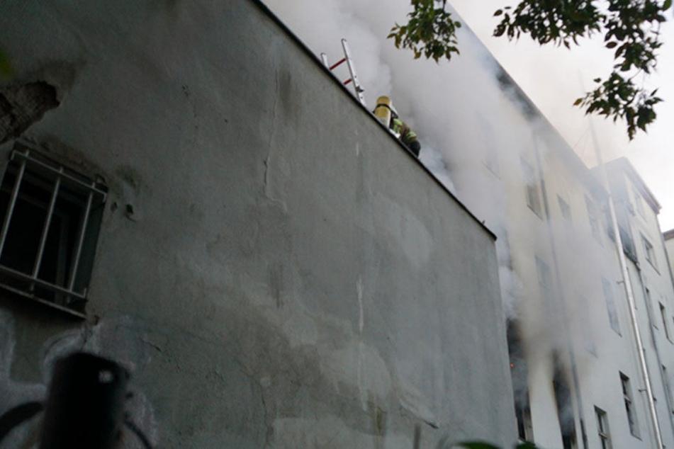 Eine Tote bei Wohnungsbrand in Berlin - mehrere Verletzte
