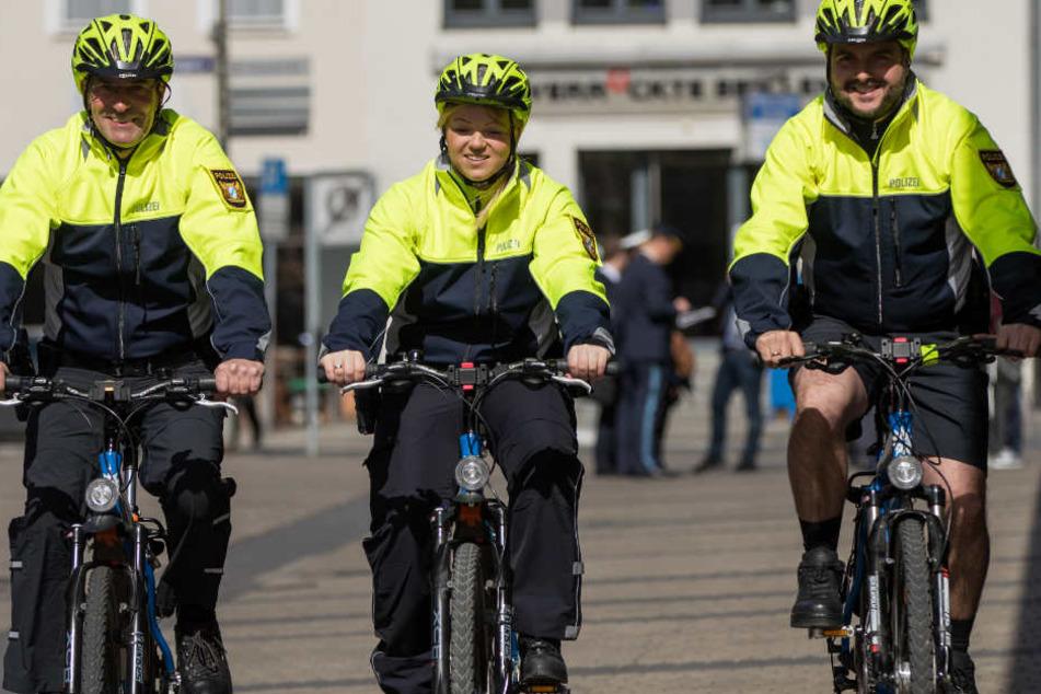 Die Fahrradstreifen kümmern sich besonders um andere Radler.