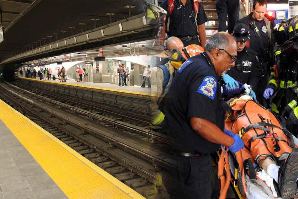 Mann wird in New York von U-Bahn überrollt, doch die Polizei hat einen schlimmen Verdacht