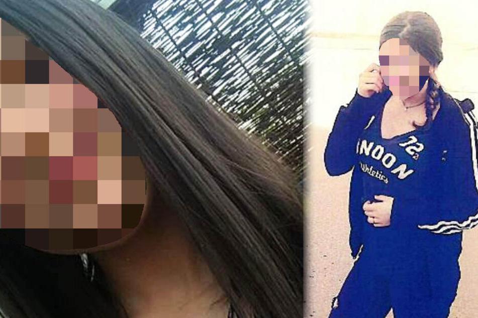 Die Polizei veröffentlichte zwei Fotos der vermissten Jugendlichen.