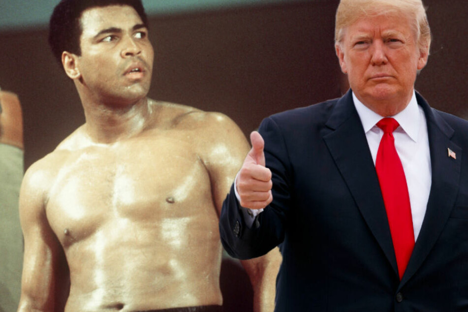 Trumps Plan für Box-Legende Muhammad Ali