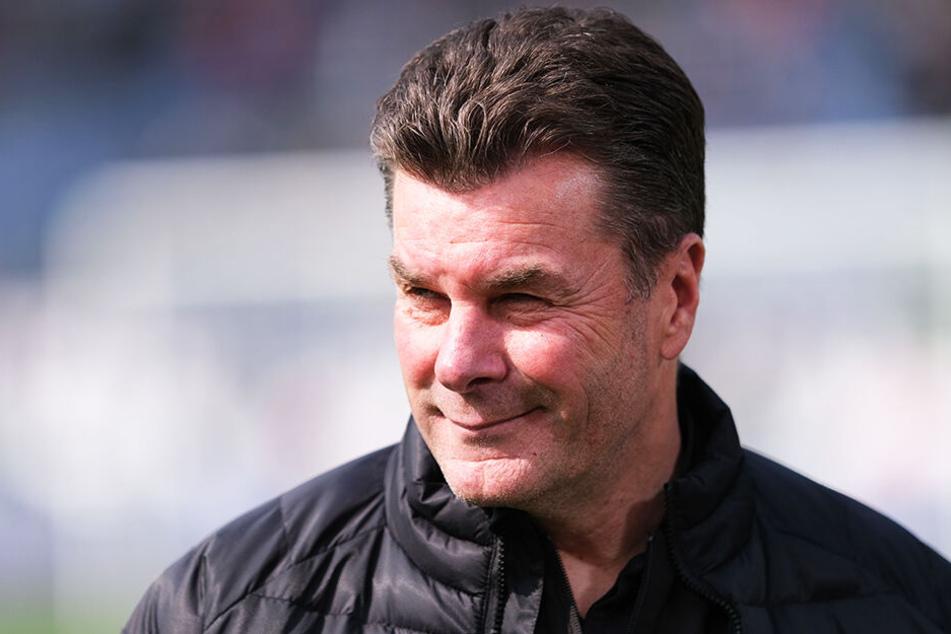 Dieter Hecking könnte Schalke mit all seiner Erfahrung stabilisieren.