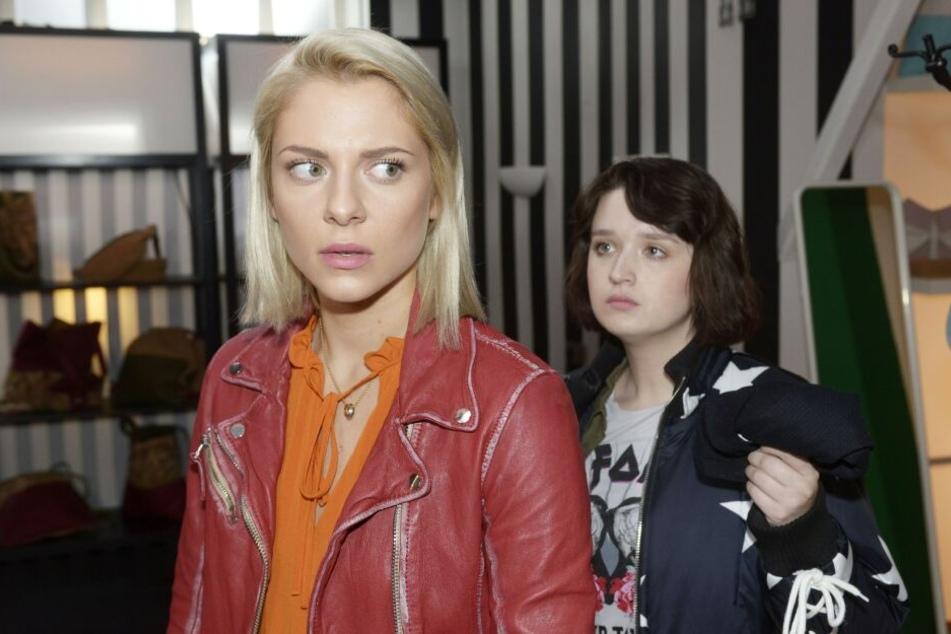 Ihre Rache wird brutal: Karla betäubt Sunny und lässt sie gefesselt im Laden zurück.