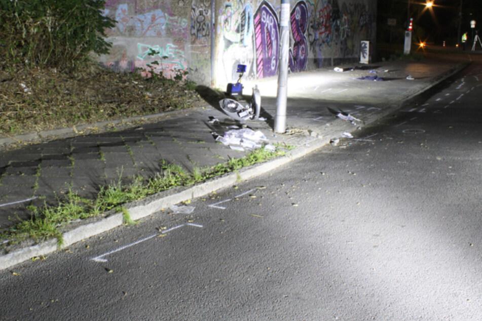 Tragischer Motorrad-Unfall in Bochum: Fahrer und Sozius tot