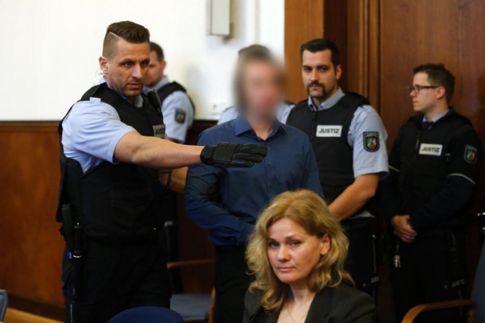 Dem 28-jährigen Sergej W. wird 28-facher versuchter Mord vorgeworfen.