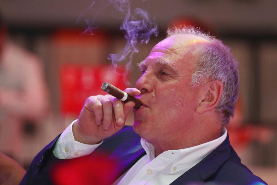 Noch ist er Präsident: Uli Hoeneß.