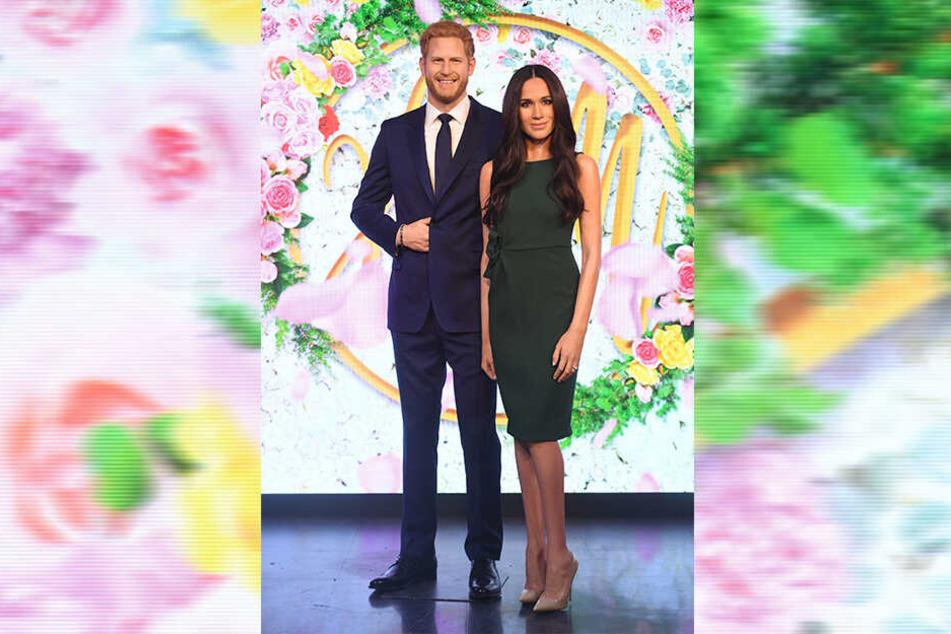 Die Wachsfiguren von Prinz Harry und Herzogin Meghan im Wachsfigurenkabinett Madame Tussauds in London wurden getrennt.