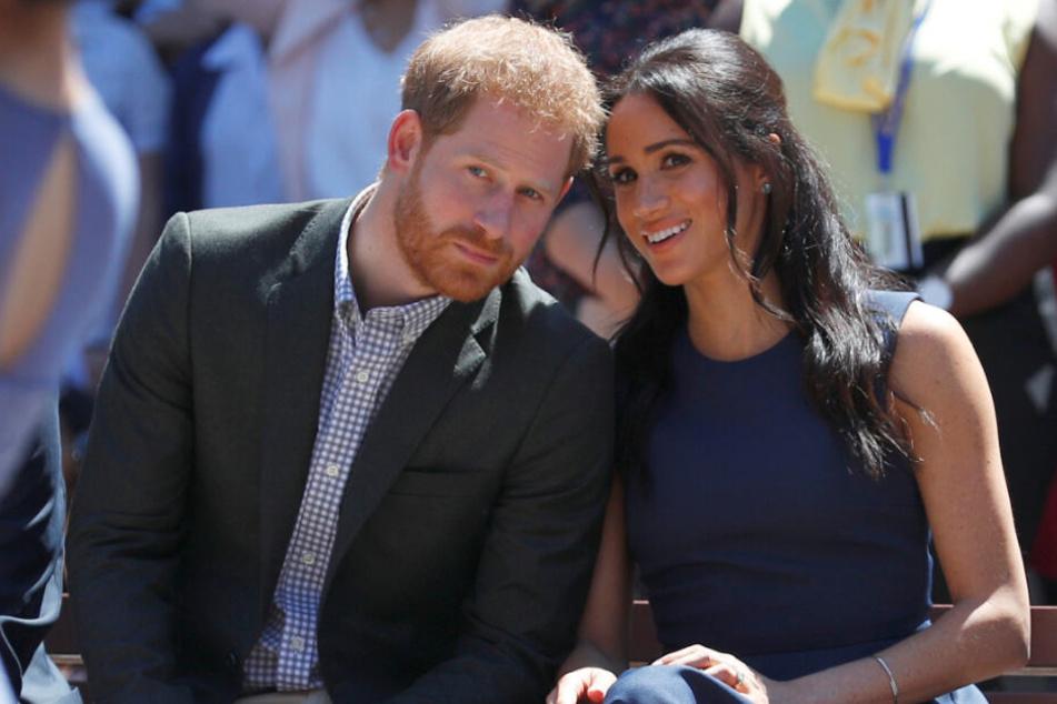 Prinz Harry, Herzog von Sussex, und seine Frau Meghan, Herzogin von Sussex.