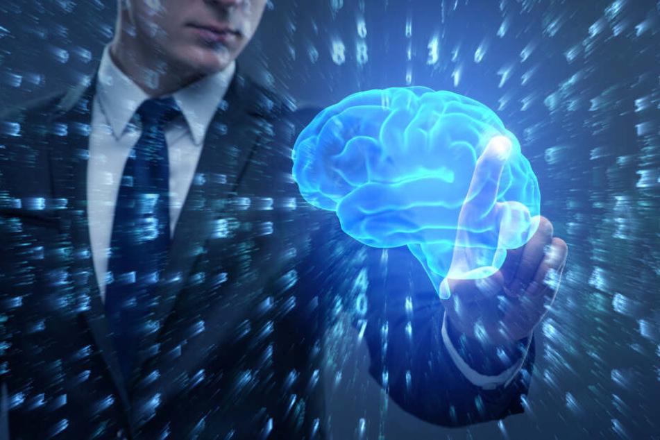 Kann eine künstlich geschaffene Intelligenz den Menschen in Zukunft übertreffen? (Symbolbild)
