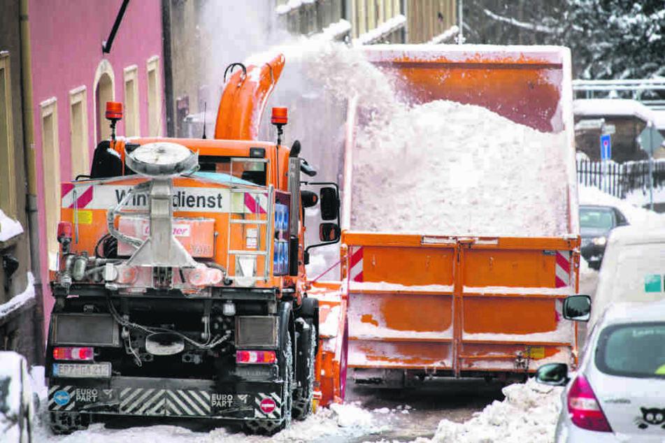 Zu wenig Personal beim städtischen Winterdienst