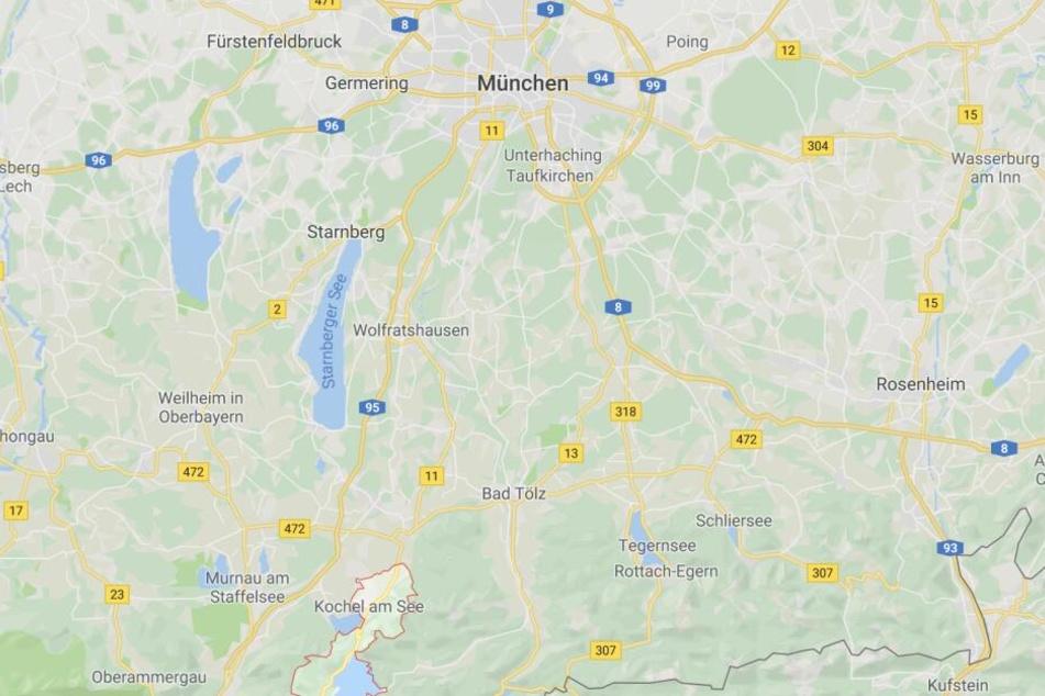 Bei Kochel am See ist es in den Bayerischen Voralpen zu einem tödlichen Fahrradunfall gekommen.