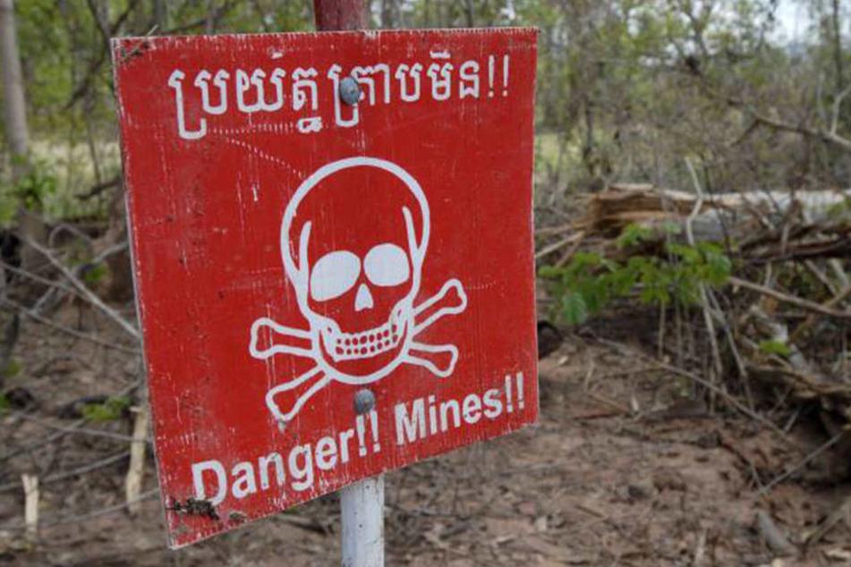 Der Nordwesten Kambodschas ist übersät mit Landminen.