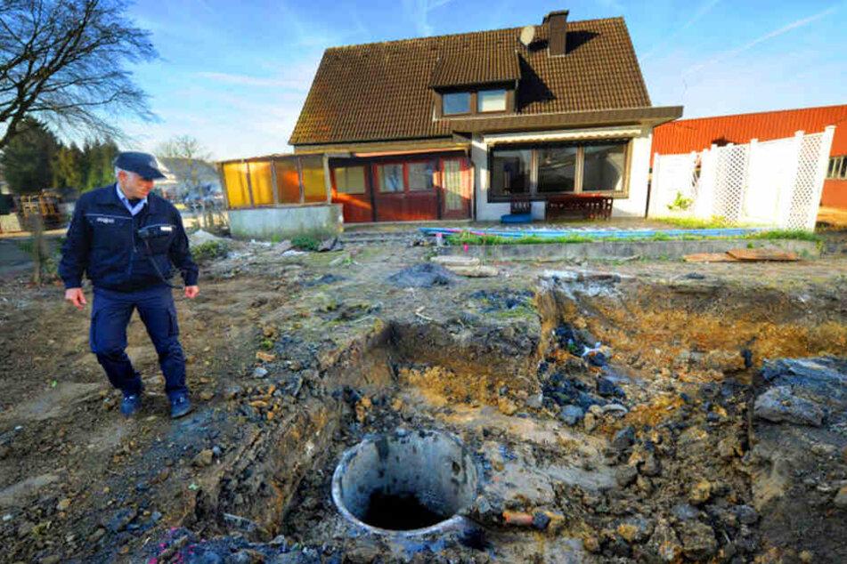 In 3,70 Meter Tiefe schlummerte die 250-Kilo-Bombe.