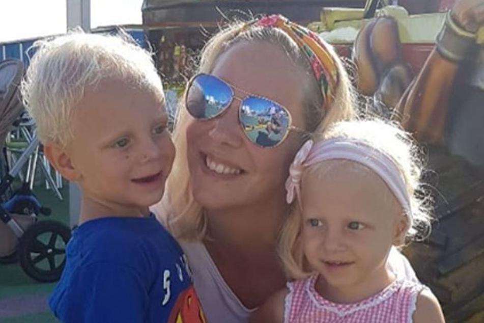Daniela Büchner ist mit der Patchwork-Familie jetzt auf sich allein gestellt.