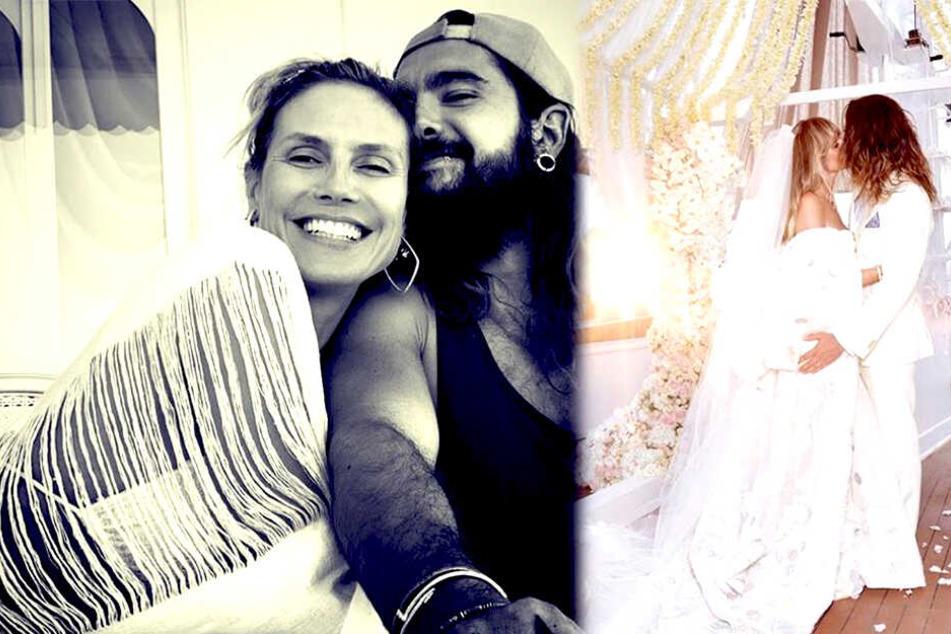 Am Sonnabend gaben sich Heidi Klum (46) und Tom Kaulitz (29) das Ja-Wort