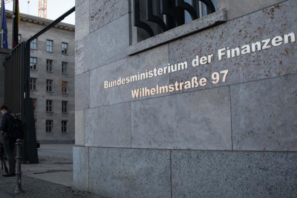 Das Bundesministerium für Finanzen in Berlin.