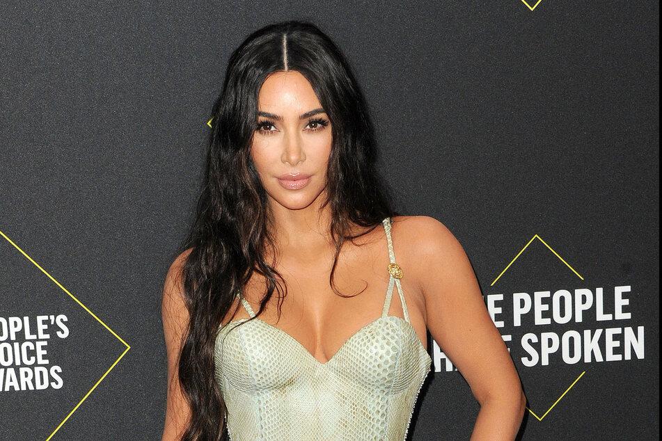 Kim Kardashian, actor and model.