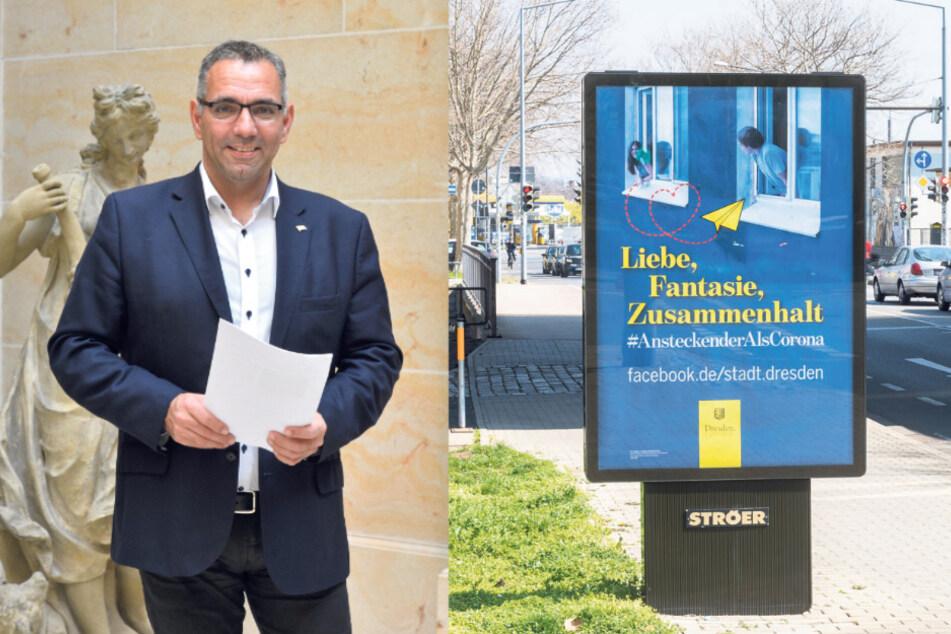 """""""Ansteckender als Corona"""": Dresdner Kampagnen-Slogan spaltet die Stadt"""
