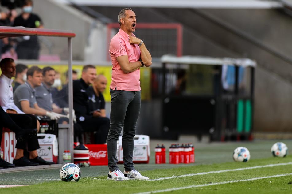 Eintracht-Frankfurt-Coach Adi Hütter (50).