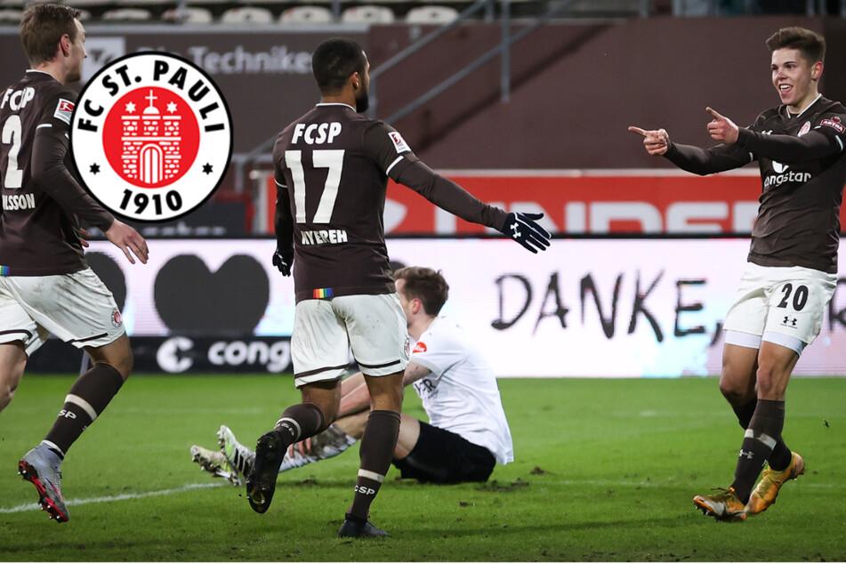 Dank Kyereh und Burgstaller: FC St. Pauli holt ganz wichtigen Dreier gegen den SVS!