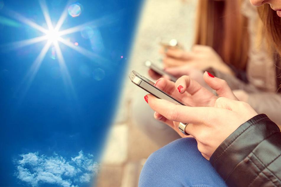 Viele unterschätzen, wie sehr die Hitze dem Smartphone schaden kann.