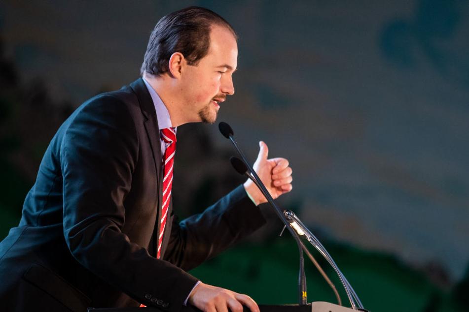 Martin Sichert wurde nach der Landtagswahl parteiintern kritisiert.