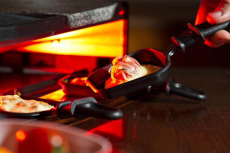 An einem solchen Raclette spielte sich die Tragödie ab. (Symbolbild)
