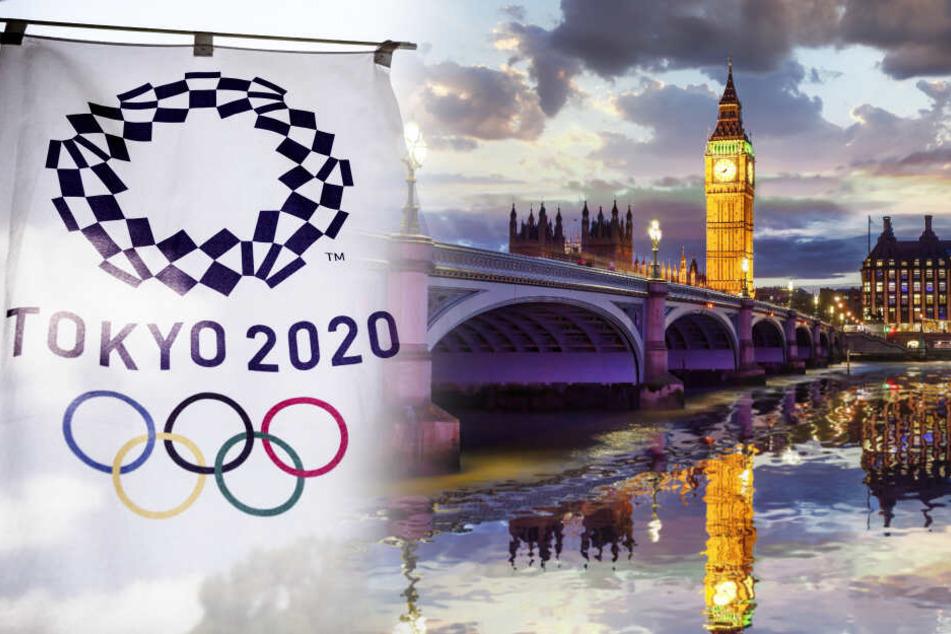 Bis jetzt bleibt das Olympia-Komitee beim Tokio-Plan. London bereitet sich vorsorglich vor.