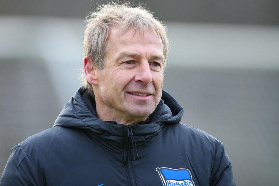 Jürgen Klinsmann tritt mit Hertha BSC zum Rückrundenauftakt auf seinen Ex-Klub.