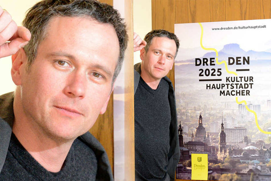 Verwaltet für 13 Projekte einen Etat von 225000 Euro: Stephan Hoffmann (44), Leiter des Dresdner Kulturhauptstadtbüros.